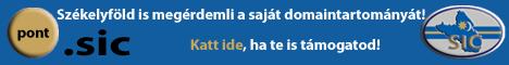 .sic - Székelyföld is megérdemli saját domaintartományát!